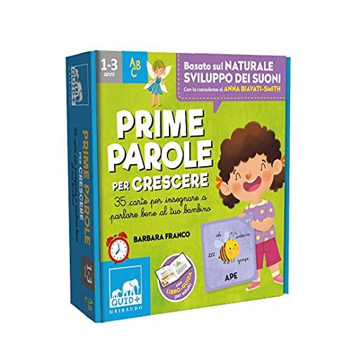 Prime parole per crescere. 35 carte per insegnare a parlare bene al tuo bambino. Con 35 Carte