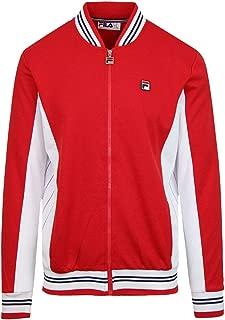 Fila Men's Settanta Track Jacket, Red