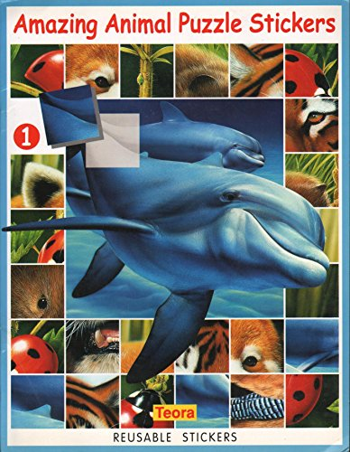 Amazing Animal Puzzle Stickers