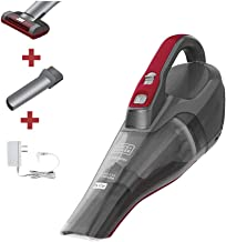 BLACK+DECKER dusbuster Handheld Vacuum for Car, Cordless, Gray (HLVB315JA26)