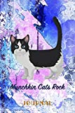 Munchkin Cats Rock: Pocket Gift Notebook for Cat and Kitty Lovers