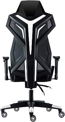 ゲーミングチェア、レーシングゲーミングチェア、Eスポーツチェア、レーシングスタイルPC、家庭用回転椅子用の快適なミニマリストゲーミングチ