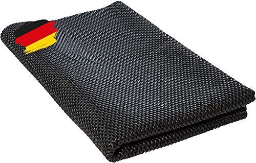 BAUHELD® Universal Antirutschmatte 100x80 cm [Made in Germany] - Zuschneidbare Antirutsch-Unterlage...