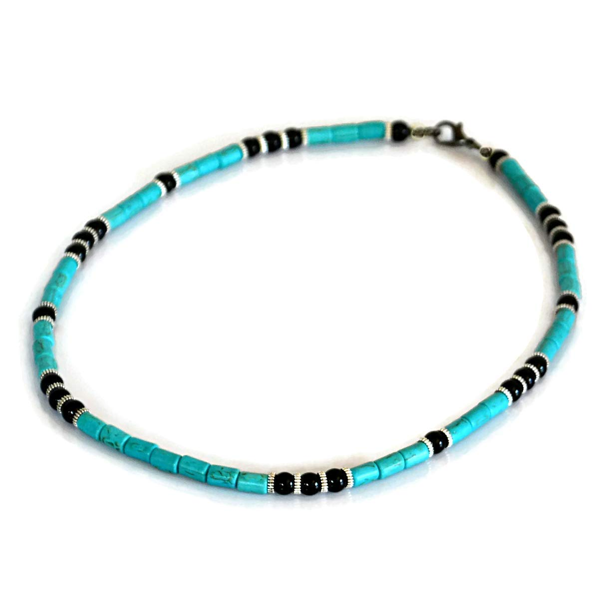 free shipping Handmade Sales for sale Surfer Gemstone Native Men's Inspired Necklace American