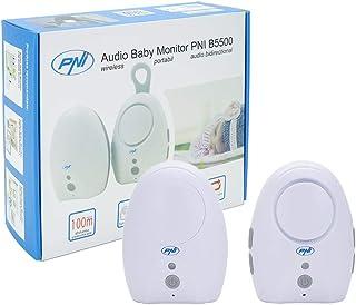 Audio Vigilabebés PNI B5500Inalámbrico de dos Vías de Comunicación