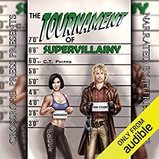 The Tournament of Supervillainy cover art