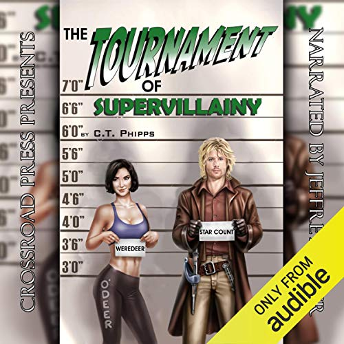 The Tournament of Supervillainy  By  cover art