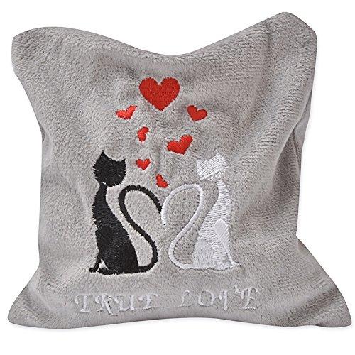 Katzenspielkissen True Love mit Silver Vine, Midi, 18 x 15 cm