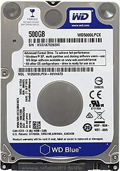 Western Digital 500GB 2.5  Playstation 3 / Playstation 4 Hard Drive  PS3 Fat PS3 Slim PS3 Super Slim PS4 Notebook Laptop  1 Year Storite Warranty
