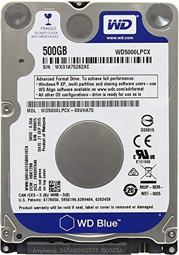 Western Digital - Disco Duro para PS3 Fat, PS3 Slim, PS3 Super Slim y PS4 (1 TB, 2,5