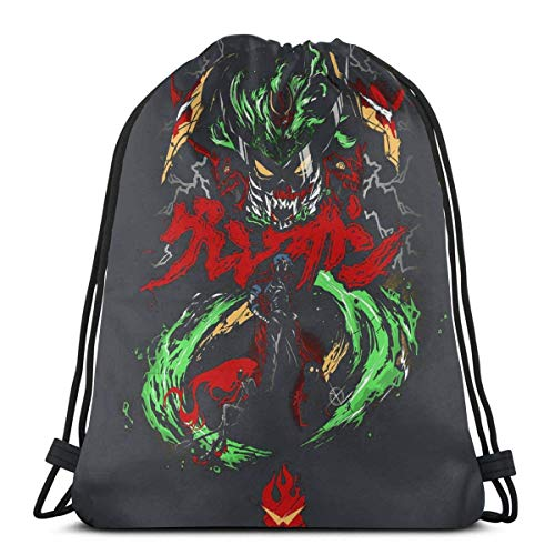 XCNGG Fullmetal Alchemist Pulp Fiction Sport Bag Gym Sack Mochila con cordón