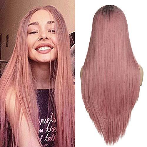 adquirir pelucas mujer pelo natural largo medio on-line
