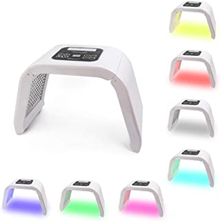 Deciniee 7 Colors PDT LED Light Therapy Machine - Anti Aging Skin Care Tools for Face Neck Body - Salon SPA Rejuvenation Beauty Equipment - Acne Remover Photon Mask with Protective Eye Glasses