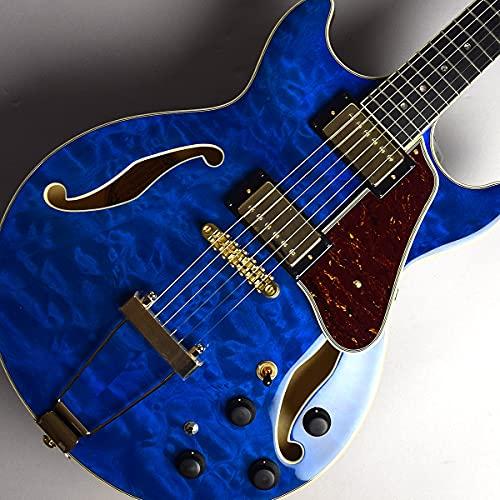 Ibanez AMH90QM Trance Blue (TBL) トランスブルー S/N PW20122582 セミアコ 島村楽器限定モデル アイバニーズ