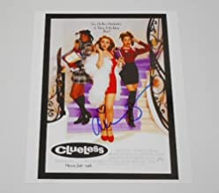 Clueless Cher' Alicia Silverstone Sexy Signed Autographed 8x10 Glossy Photo Loa