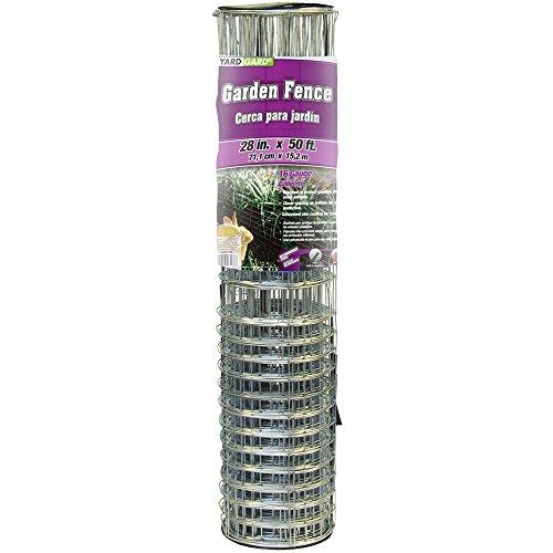 YARDGARD 308371B Garden Rabbit Fence 28 Inch x 50 Foot, Silver