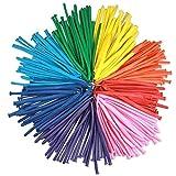 Augenblick 100 Globos de Moldeables, Globo de Fiesta, Boda, Festival, Rojo, Rosado, púrpura, Naranja, Amarillo, Azul Claro, Verde Oscuro, Rojo Ciruela