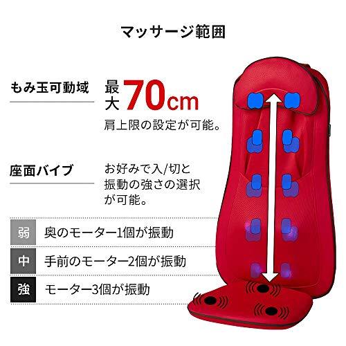ドリームファクトリーDOCTORAIR『3Dマッサージシートプレミアム(MS-002)』