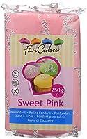FunCakes Funcakes Fondant Para Cubrir Tartas Cupcakes Galletas O Modelar Color Sabor Vainilla Flexible Sin Gluten Halal...