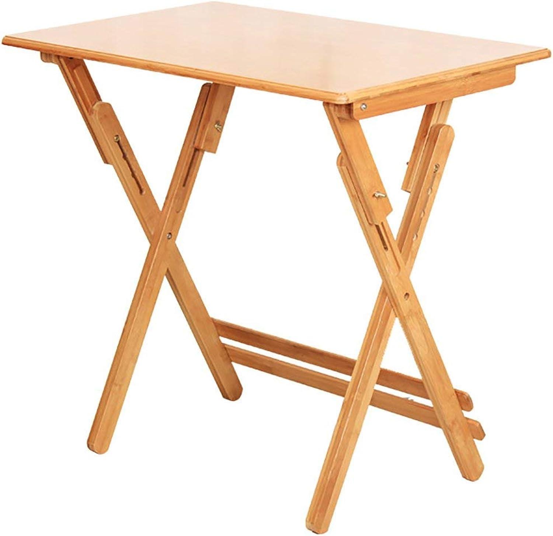 cómodamente Wghz Wghz Wghz Estante portátil del Escritorio de la Tabla de la elevación de la Tabla de bambú Plegable (tamaño  los 80  50cm)  suministro directo de los fabricantes