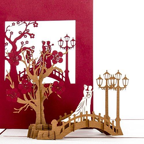 3D Hochzeitskarte
