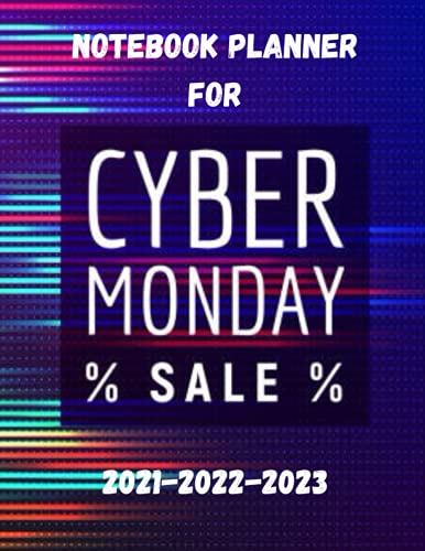 Cyber Monday: Shopping Plan day Notebook,(8.5' x 11') 100 pages