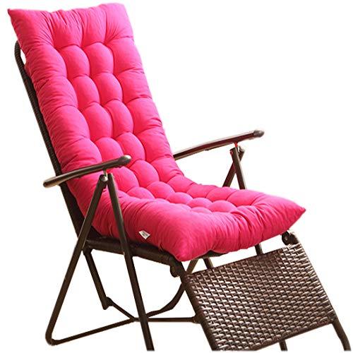 HUIJU schommelstoel kussen, opvouwbare roze tuinstoel kussen, geschikt voor binnen en buiten meerdere scènes (Bank, loungestoel of hangmat)