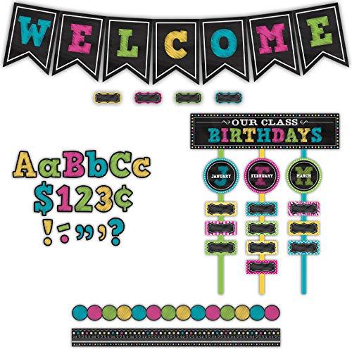 Teacher Created Resources Chalkboard Brights Classroom Kit (32402) Photo #4