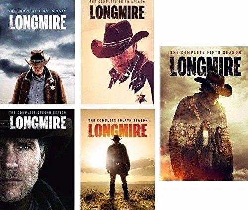 Longmire: Complete Sereis Seasons 1-5 Yes-Season 5 Dvd Bundle