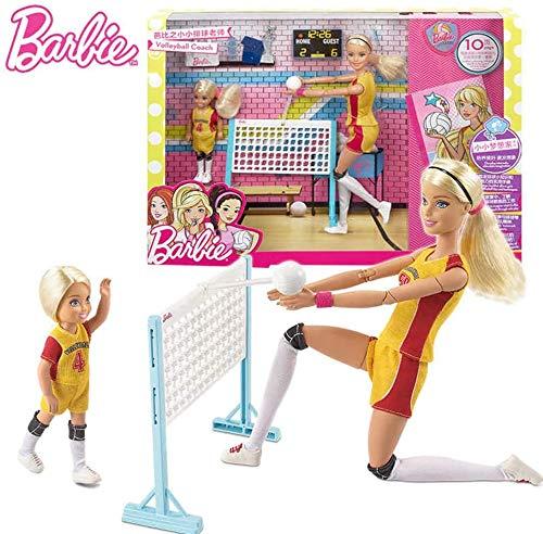 Barbie - FRL33 Volleyball Playset - 2 Puppen und Zubehör