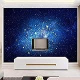 Sternenhimmel Tapete 5d Thema Bar KTV Tapete 3d TV Hintergrund Wand Meteor Blendung Wand Tuch Wand...