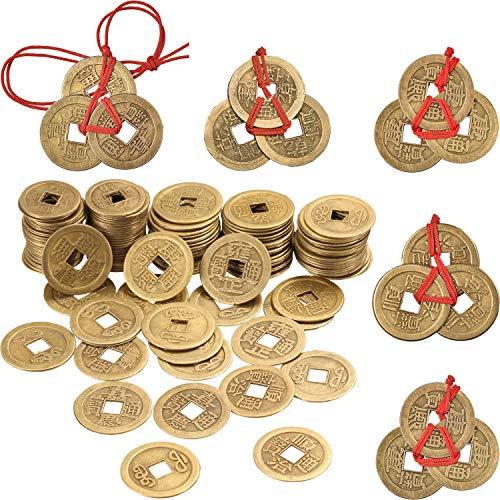 50 Piezas 1 Pulgada de Moneda Feng Shui China Moneda I Ching