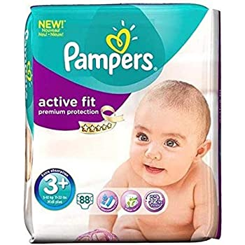 New Baby Couches Taille 1 Pampers - 2-5 kg pour Bébé x88 couches