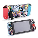 SUPNON Carry Case Compatible with Nintendo Switch, Ultra Slim Hard Shell, Protective Carrying Case for Travel - Colorful Diamond Rock Jewelry Mineral Design21002