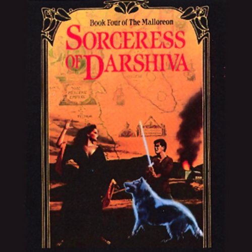 Sorceress of Darshiva audiobook cover art