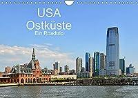 USA Ostkueste Ein Road Trip (Wandkalender 2022 DIN A4 quer): Mit diesen Bildern erwartet Sie ein fantastisches Abenteuer durch die Oststaaten der USA (Monatskalender, 14 Seiten )