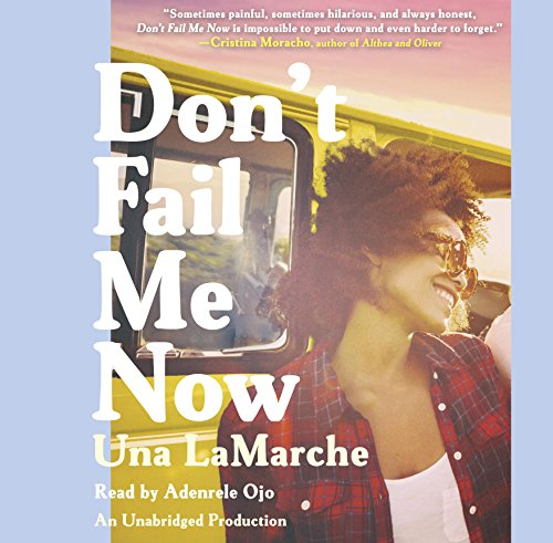 Don't Fail Me Now audiobook cover art