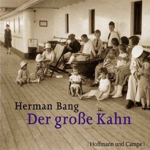 Der große Kahn audiobook cover art