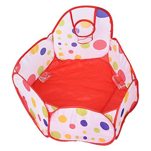 6 kanten opvouwbare pop-up speeltent, draagbare ballenbad pit baby kinderen peuters educatief speelgoed