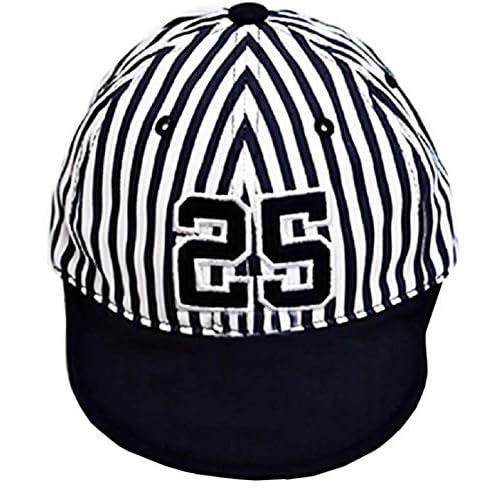 Cappello da Bambini - Estivo - Baseball - Blu - Berretto - Visiera - con Strisce Morbido - Protezione Solare - Idea Regalo Originale - Cappellino per Bimbi - Ottima qualita