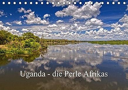Uganda - die Perle Afrikas (Tischkalender 2018 DIN A5 quer): Ein Streifzug durch Uganda, ein wunderschönes Land Westafrikas (Monatskalender, 14 Seiten )