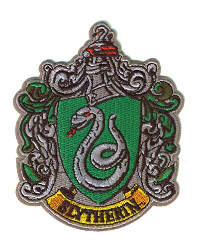 SET PRODUCTS  Parche Termoadhesivo de Harry Potter - Iron-on Patches para Personalizar su Ropa o Bolsos - Poudlard, Gryffondor, Serpentard, Hufflepuff, Serdaigle, Ravenclaw, Slytherin, Hufflepuff