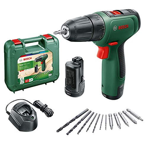 Bosch Home and Garden 06039D3007 Trapano, 12 V, Green, 3/4_pollice