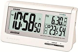 カシオ デジタル生活環境お知らせ電波目覚まし 日付表示 温・湿度表示付 DQL-140NJ-7JF