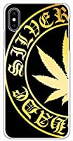 sslink iPhone XS Max ハードケース マリファナ柄-B マリファナ スマホ ケース スマートフォン カバー カスタム ジャケット