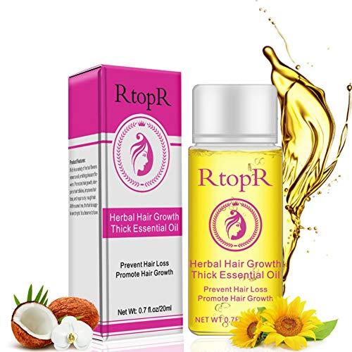 ETOSELL Hair Essential Oil Herbal Hair Growth Thick...
