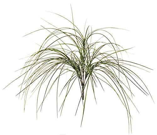 artplants.de Künstliches Dünengras TAVIBO auf Steckstab, grün, 75cm - Künstliche Pflanze - Künstliches Gras