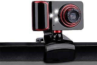 APPLL HD Webcam, cámara 480P Web con micrófono USB Plug and Play Web CAM, vídeo de Pantalla Ancha callling de grabación para Windows XP / Win7 / 8/10 / Vista