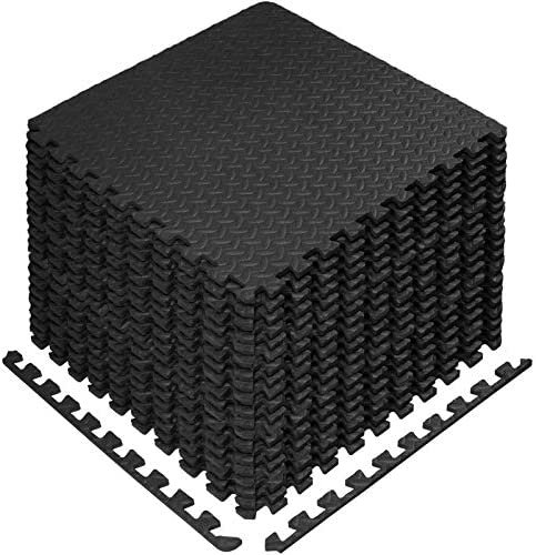 StillCool Puzzle Exercise Floor Mat EVA Interlocking Foam Tiles Exercise Equipment Mat with product image