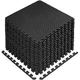 StillCool Puzzle Exercise Floor Mat, EVA Interlocking Foam Tiles Exercise Equipment Mat with Border...